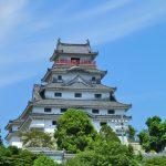 唐津から東松浦半島をドライブ。唐津城に行った