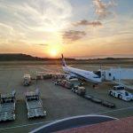 長崎空港にて旅客機の撮影に行った